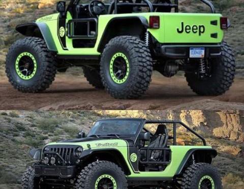 Mopar / Jeep | desarrollaron 7 nuevos vehículos concepto