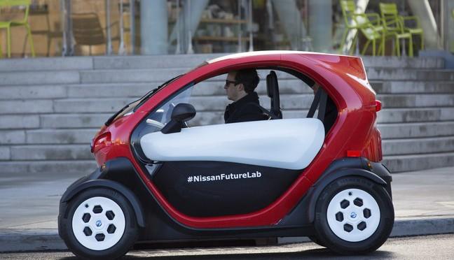 Micromovilidad | Nissan | presenta su concepto Scoot Quad B-Roll en el Auto Show de Nueva York 2016
