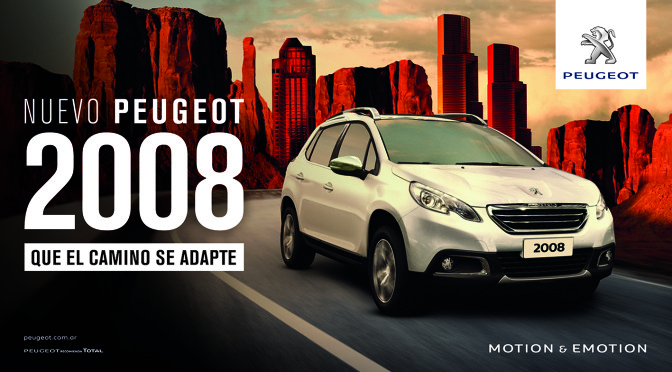 2008 | Peugeot | lanzamiento campaña de comunicación