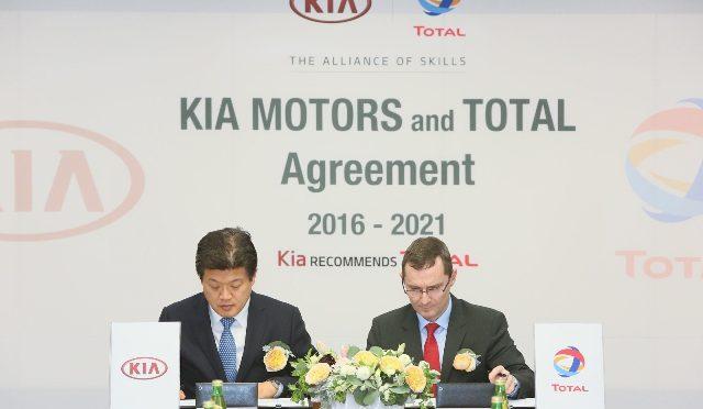 Alianza | Total y Kia renuevan acuerdo