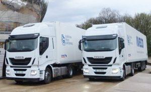 Iveco camiones inteligentes primera iniciativa transfronteriza mundial European Truck Platooning Challenge pruebautos 2