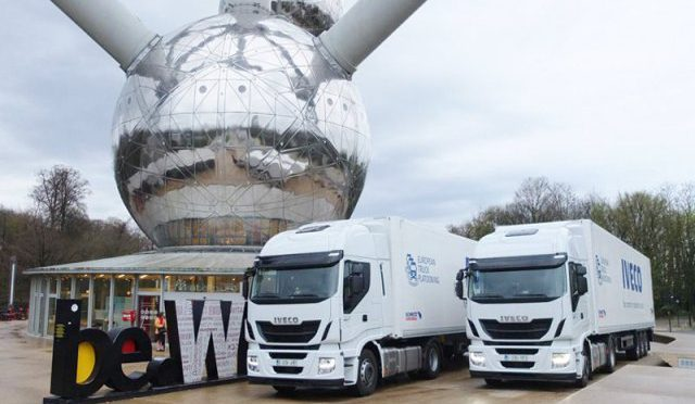 Platooning | Iveco | hacia la conducción autónoma de camiones
