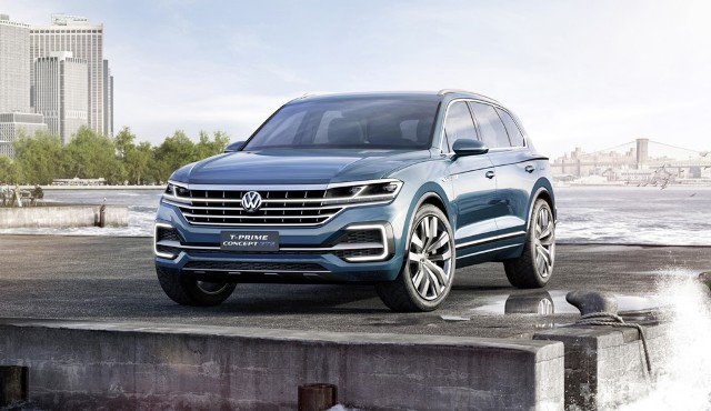 T-Prime Concept GTE | Volkswagen | el futuro de la Tuareg en Pekin
