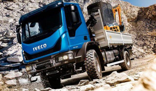 Eurocargo 4×4 | Iveco presenta su nuevo modelo en BAUMA 2016