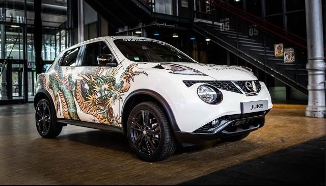Juke by Nissan | versión tatuada de su crossover en París