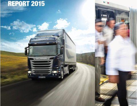 Scania   publicó el Reporte Anual de Sustentabilidad 2015