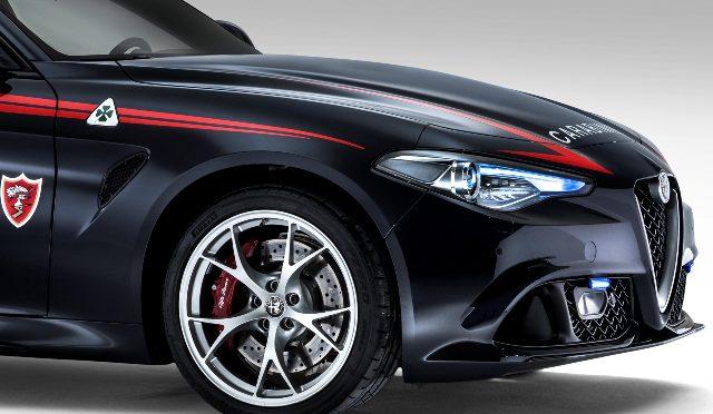 Giulia QV Carabinieri | Alfa Romeo | el placer de ir en cana?