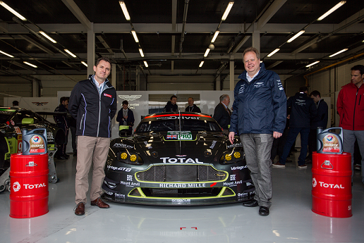 Alianza | Total & Aston Martin Racing | firman un acuerdo global
