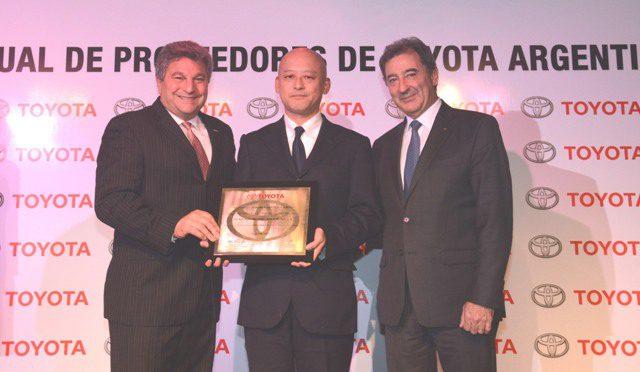 Toyota | distinguió a sus mejores proveedores