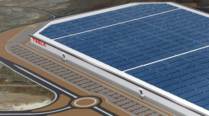 Gigafactory | Tesla | abriría su fábrica de baterías a fin de julio