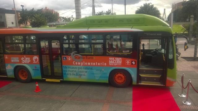 Buses a Gas | Scania | nuevos servicios en Bogotá