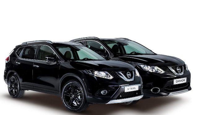 Black-Edition | Nissan | presenta nuevas ediciones limitadas de sus crossovers X-Trail y Qashqai en el IFEMA 2016