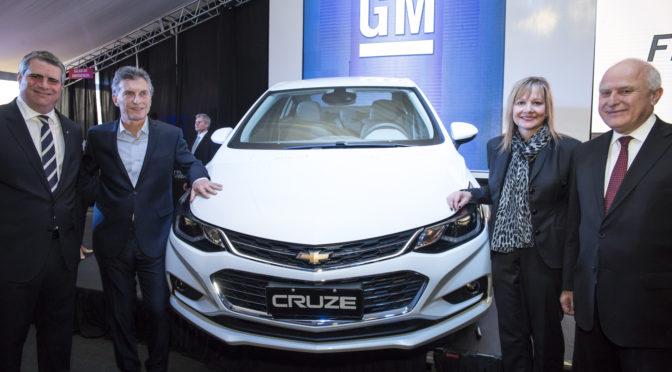 Chevrolet | Cruze | GM inauguró oficialmente la línea de producción