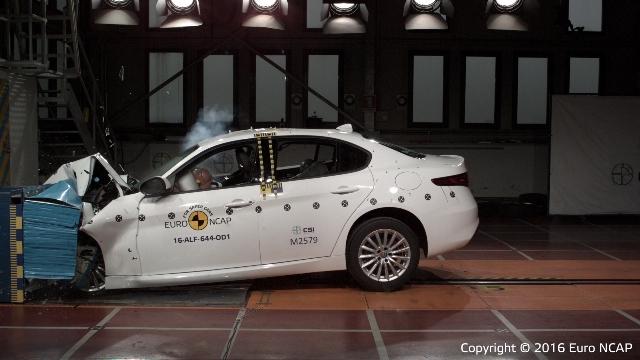 Giulia | Alfa Romeo | 5* top en seguridad