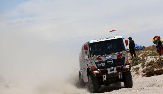 Sugawara | Hino | participará en el Dakar 2017