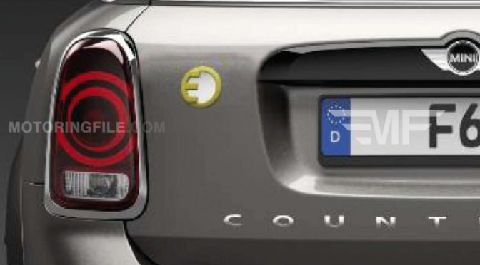 Countryman | MINI | tendrá una variante híbrida plug-in