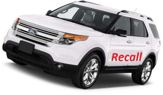 Explorer | Ford | bajo lupa de recall en EEUU