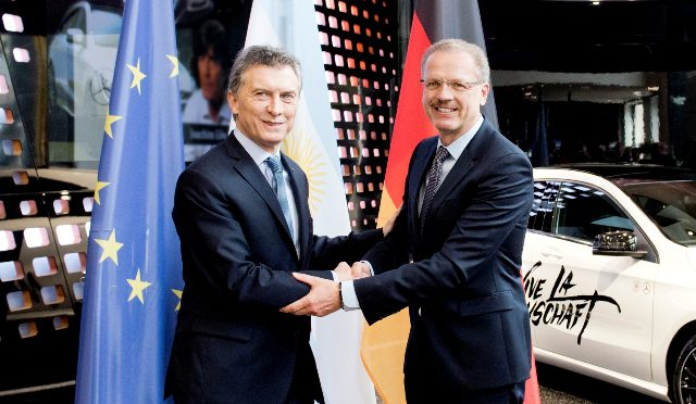 Macri | Daimler | reunión en Alemania
