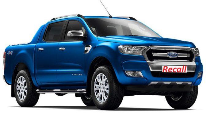 Ranger | Ford | recall para la camioneta nacional