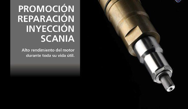 Promoción | Scania | servicios de reparación de inyectores