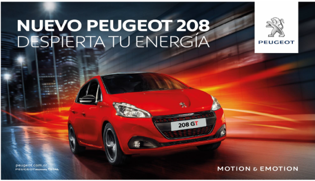 Nuevo-208 | Peugeot | estrena campaña publicitaria