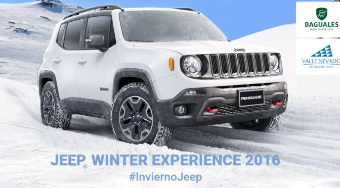 Invierno Jeep | Renegade | presenta Winter Experience Tour 2016