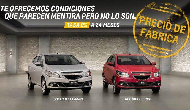 Prisma y Onix | Chevrolet | a precios de fábrica