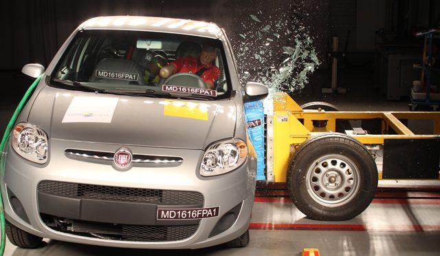 Latin NCAP | Fiat Nuevo Palio | crash test con resultado preocupante