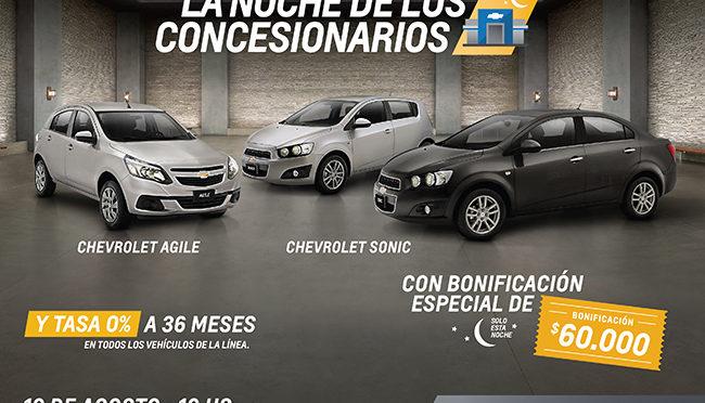 La Noche de los Concesionarios | Chevrolet