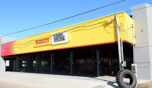 Pirelli Neumáticos | inauguró nuevo punto de venta