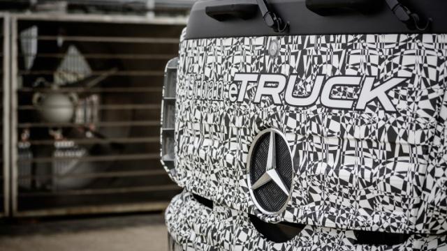 Urban eTruck | Mercedes-Benz | primer camión totalmente eléctrico
