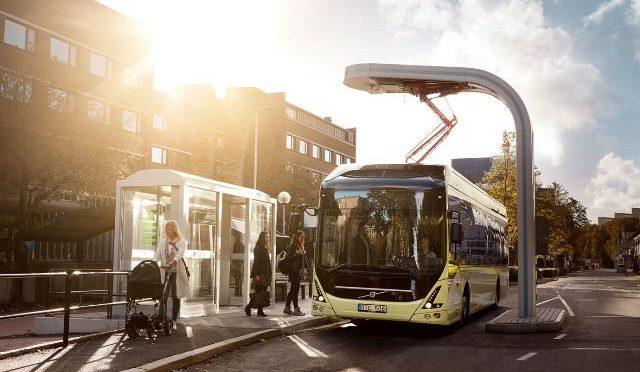 Curitiba | Volvo | prueban un autobús híbrido e inteligente en Brasil