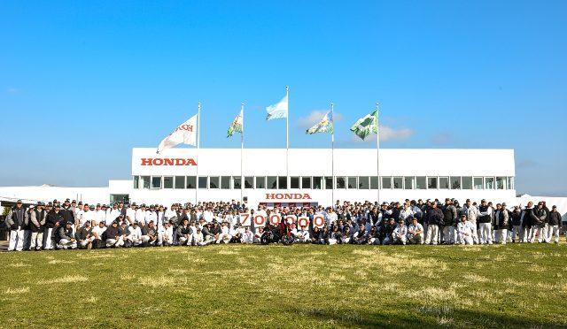 Motos   Honda Motor Argentina   ya fabricó 700.000 unidades