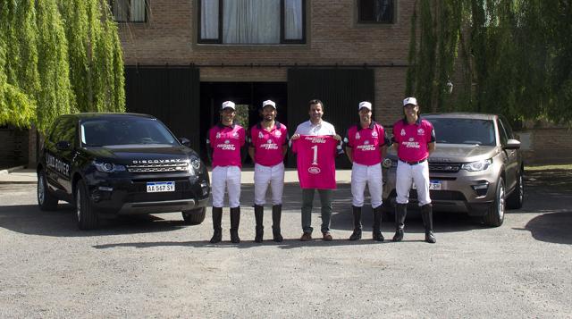 Alegría Polo Team y Land Rover   renuevan alianza