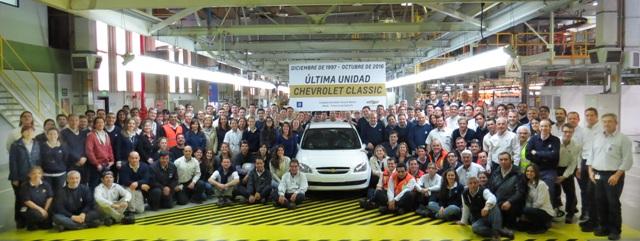 Corsa Classic   Chevrolet   el auto más producido en argentina