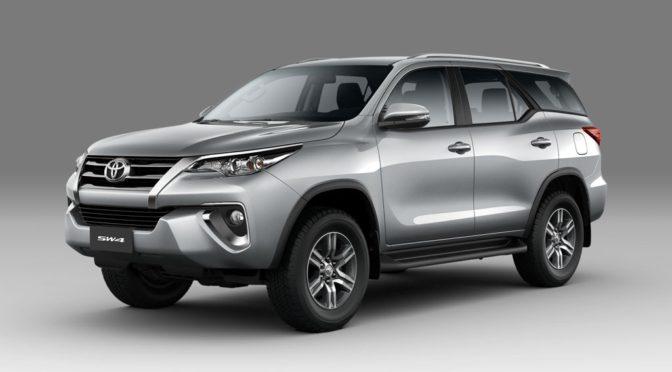 Nueva SW4   Toyota   crece la gama del gran SUV nacional
