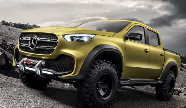 Clase X | Mercedes-Benz | la pick-up Concept