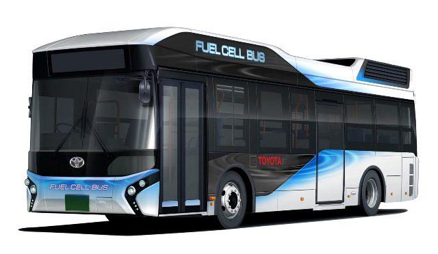FC Bus | Toyota | ómnibus a celda de combustible