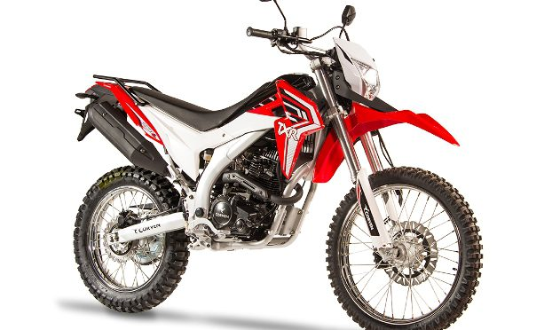 Triax TXR250L | Corven Motos | presenta su nueva on/off