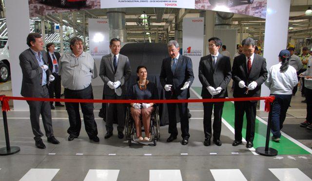 Toyota Argentina | ya produjo un millón de unidades