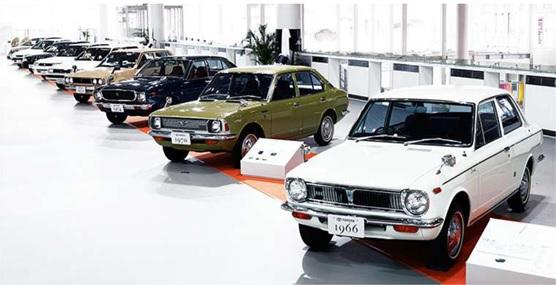Corolla   Toyota   50 años de historia