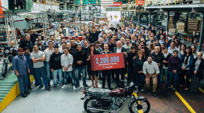 Zanella | 2.200.000 motos fabricadas en la Argentina