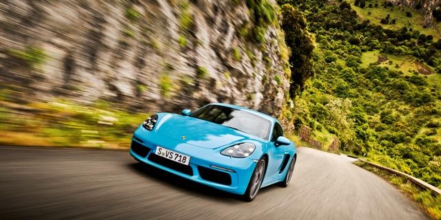 718 Cayman | Porsche | en la edición 100 de la Targa Florio