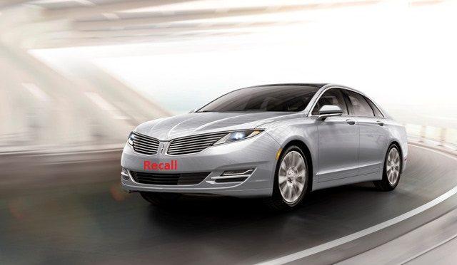Fusion y Lincoln MKZ | Ford | recall de 680.872 unidades