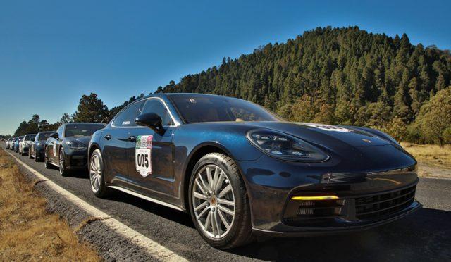 Panamera | Porsche | fue presentado en un rally