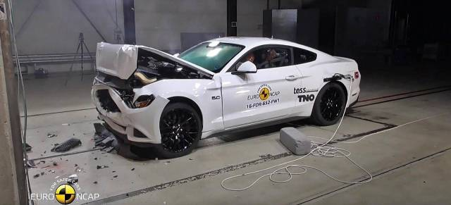 Mustang | Ford | EuroNCAP le dió sólo 2 estrellas