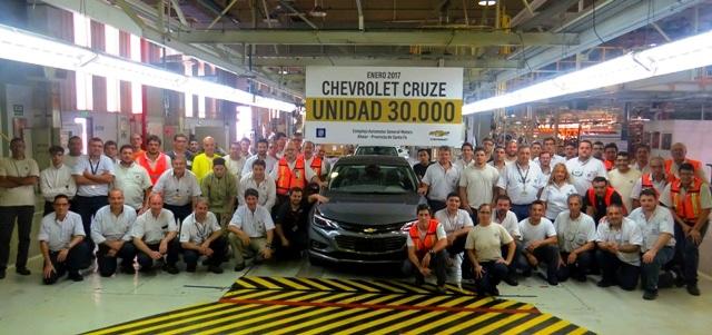 Cruze | Chevrolet | ya fabricó 30mil unidades en Argentina