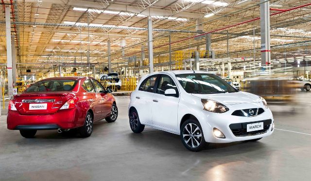 March / Versa | Nissan | llegan a Argentina los primeros made in Resende