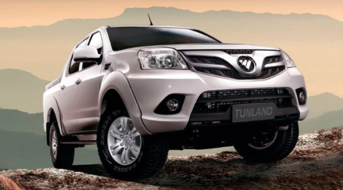 Tunland | Foton | presentan la nueva pick-up en Expoagro