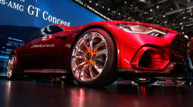 GT Concept | Mercedes-AMG | la berlina del futuro